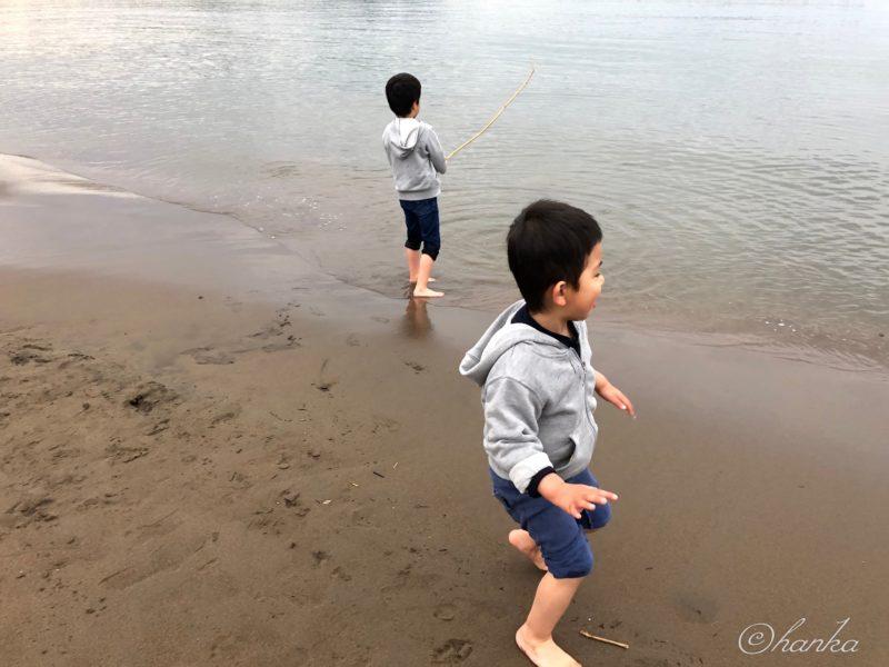 日本海,春