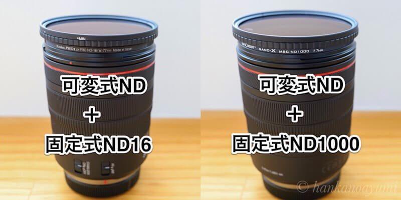 固定式ND,可変式ND