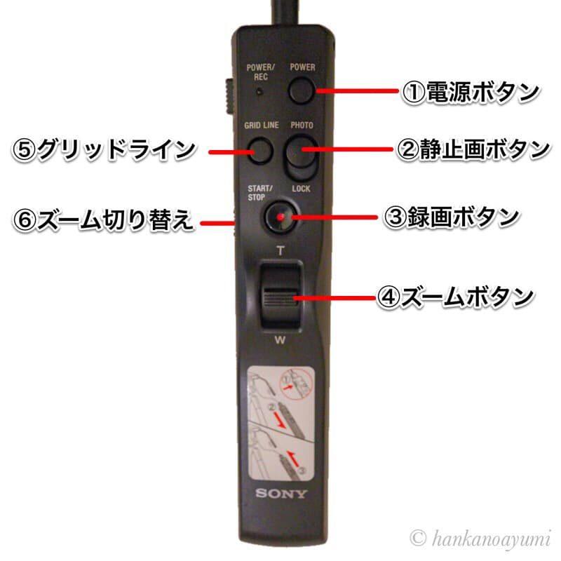 VCT-VPR1,ソニー,リモコン三脚