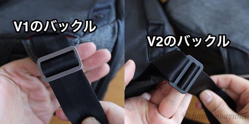 エブリデイスリング V2のバックル