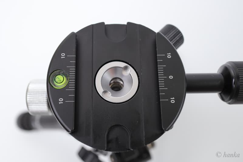 MENGS PAN-Aの水準器と目印