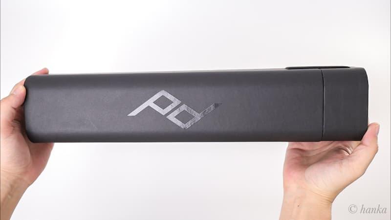 ピークデザイン三脚の外箱