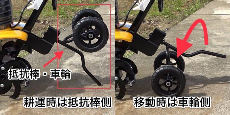ACV-1500の車輪