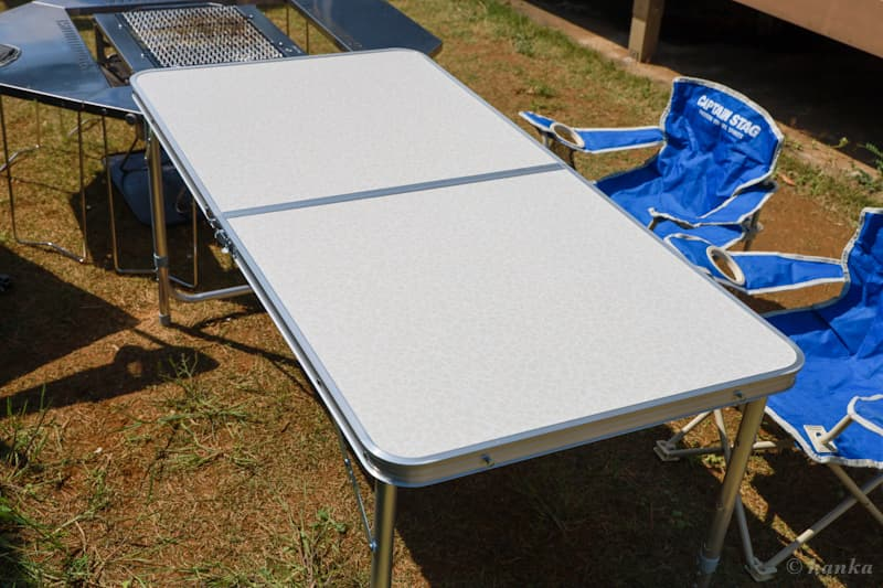 DesertFoxの折りたたみテーブル