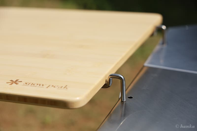 マルチファンクションテーブルとジカロテーブルの接続