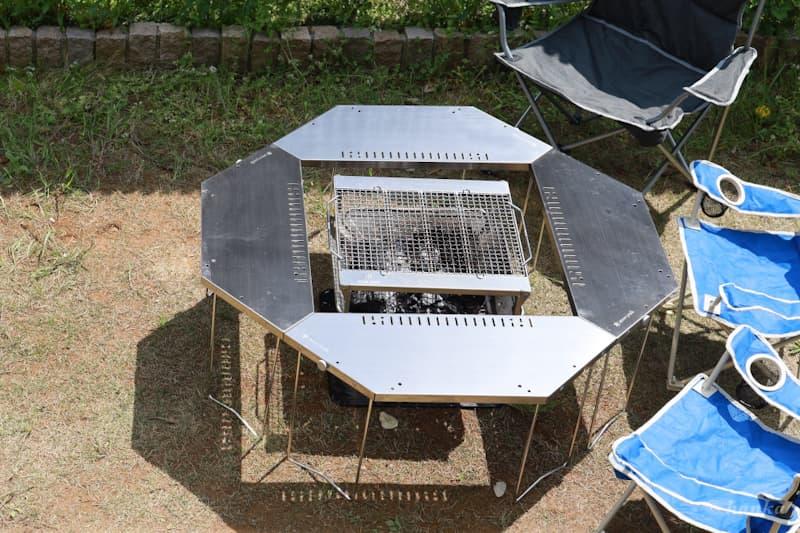 ジカロテーブル八角形