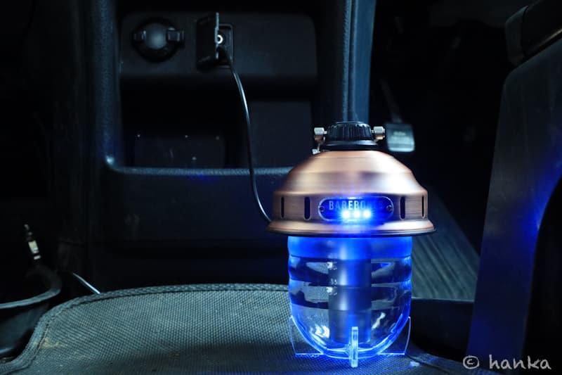 ビーコンライトLEDを車で充電