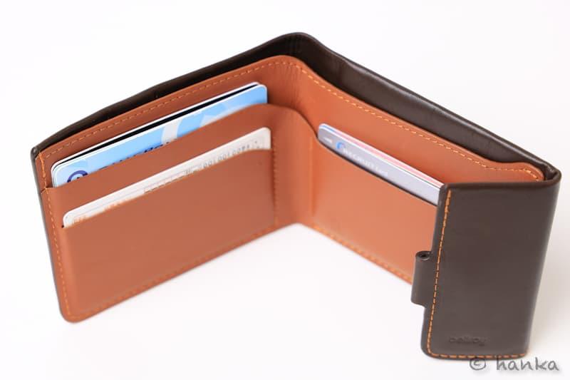 ベルロイのコインフォールドのカードポケット