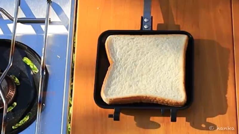 ホットサンドメーカー,食パン,サイズ