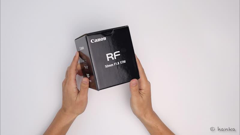 rf50mmf1.8,開封