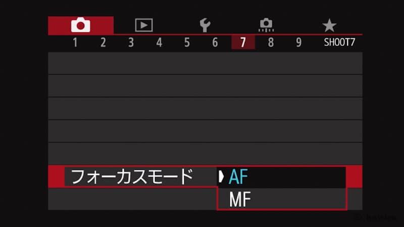 RF50mmF1.8STM,MF切り替え